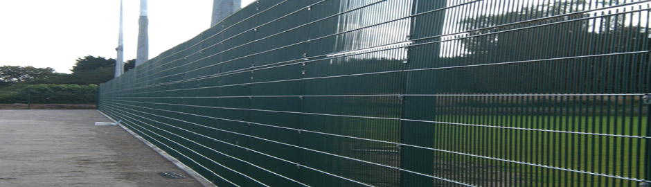 Sports Fencing for new School Build in York
